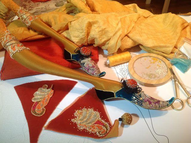 Кукольная мастерская ANNADAN: Продолжение работы.