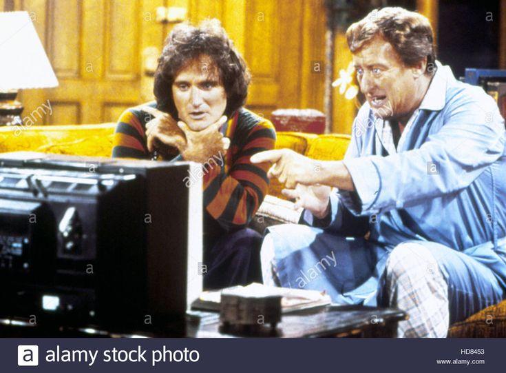 MORK & MINDY, Robin Williams, Tom Poston, (c)Paramount Television courtesy Everett Collection