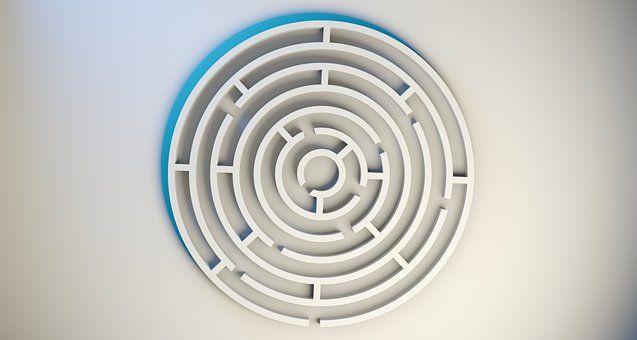 Labyrinth, Maze, Game, Way, Search