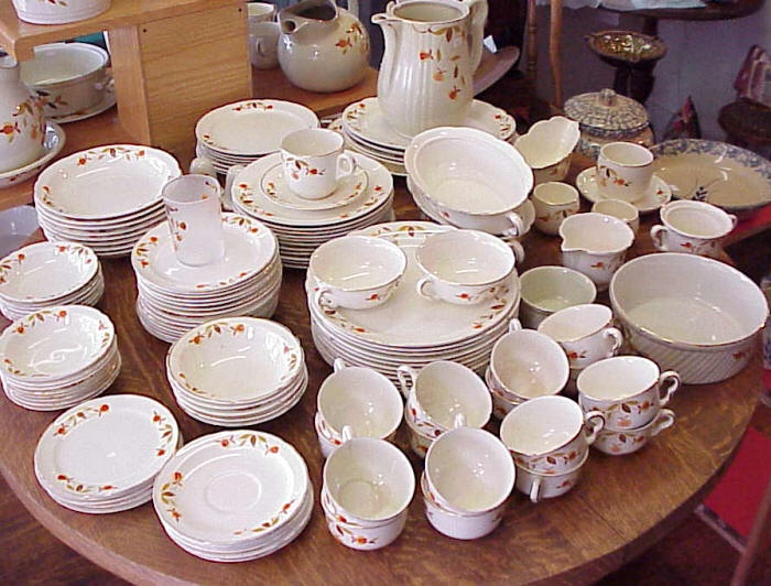 Jewel Tea Autumn Leaf China : autumn leaf dinnerware - Pezcame.Com