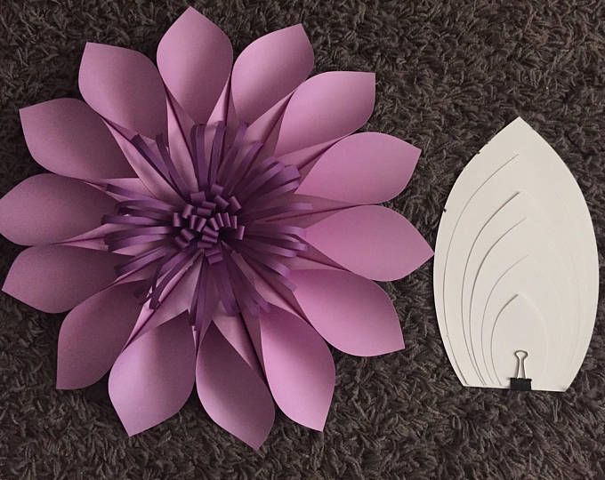 Pdf Paper Flower Template 2 Digital Version Diy Paper Flowers Wedding Shower Nursery Decor Paper Flower Template Diy Paper Flower Templates Paper Flowers