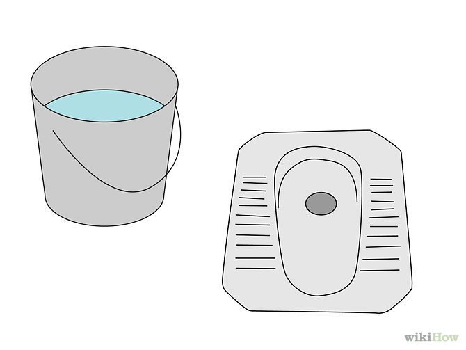 how to use a squat toilet indonesia