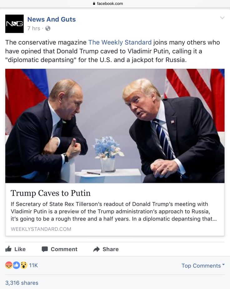 """The conservative magazine The Weekly Standard joins many others who have opined that Donald Trump caved to Vladimir Putin, calling it a """"diplomatic depantsing"""" for the U.S. and a jackpot for Russia."""