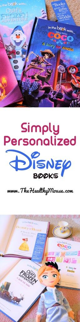 The perfect gift for a child of any age - Simply Personalized Disney books! Personalized Disney gifts