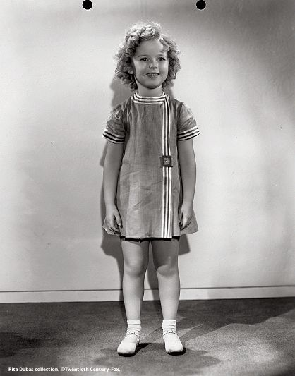 I adore Shirley Temple and collected Shirley memorabilia as a teenager. Watching her films is a treat--even more so if you are a vintage fashion aficionado.