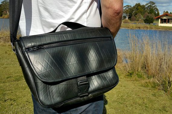 Hey, I found this really awesome Etsy listing at https://www.etsy.com/listing/251023567/inner-tube-messenger-bag