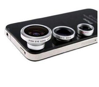 Дешевое Бесплатная доставка 3 в 1 + макро объектив + 180 рыбий глаз линзы для iPhone 4 4S 5 5S 5с, Для всех мобильных телефонов цифровой камеры, Купить Качество Линзы непосредственно из китайских фирмах-поставщиках:      Подробная информация о продукте и GT ; & GT ; & GT ;         Портативный и съемный , вы можете взять фотографию с в