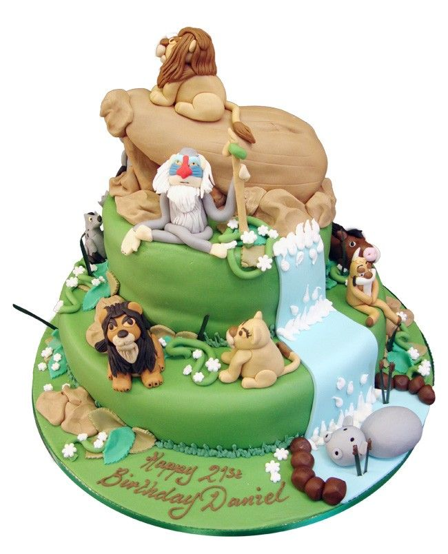 1000+ images about Lion King cake on Pinterest Baby ...