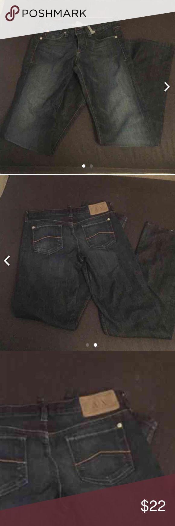 Like new Armani exchange jeans Worn 2-3 times. A/X Armani Exchange Jeans Boot Cut