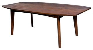 Elliptical Dining Table - modern - dining tables - san francisco - by Teak Me Home
