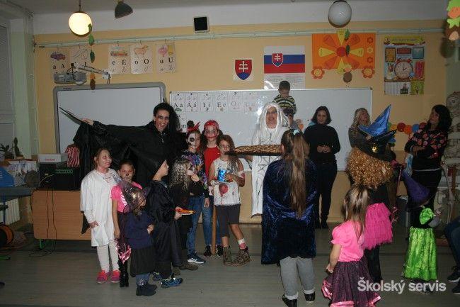 Halloweensky deň na Základnej škole Lipová - Základné školy - SkolskyServis.TERAZ.sk