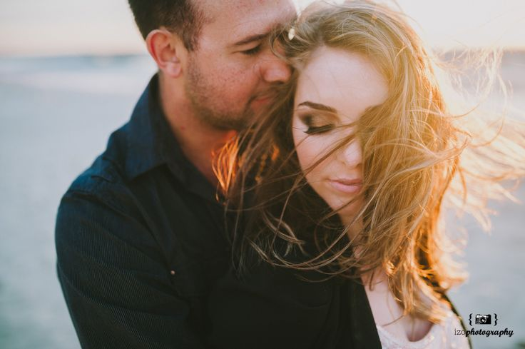 Windswept Beach Engagement Session, Perth Australia