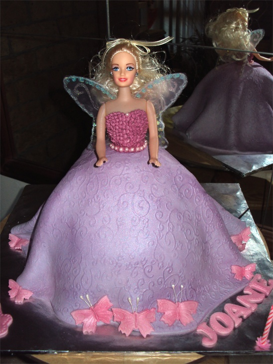 Birthday Cake Barbie Doll With Name