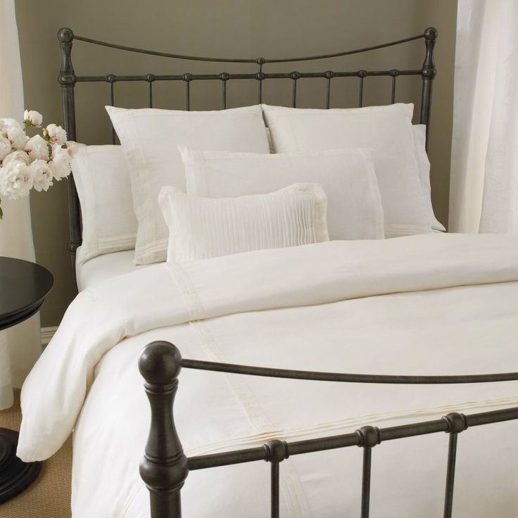152 best images about iron bed on pinterest shabby chic bedrooms cast iron beds and boutique - Ethan allen metal bed ...