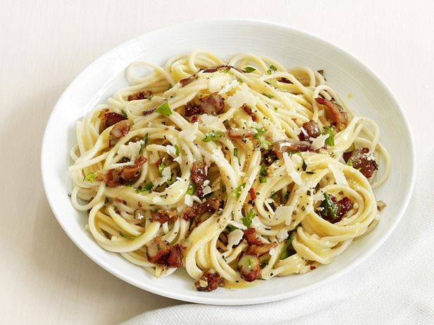Italian Pasta Dishes, Network Kitchen, Pasta Carbonara, Spaghetti ...