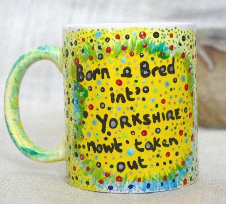 YORKSHIRE Saying, Coffee Mug, Tea Mug, Ceramic Mug, Yorkshire Tea, Office Mug