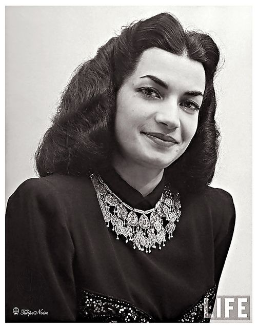 H.H. Princess Ashraf Pahlavi of Iran In 1947...............http://www.pinterest.com/madamepiggymick/arab-royalty-iran/