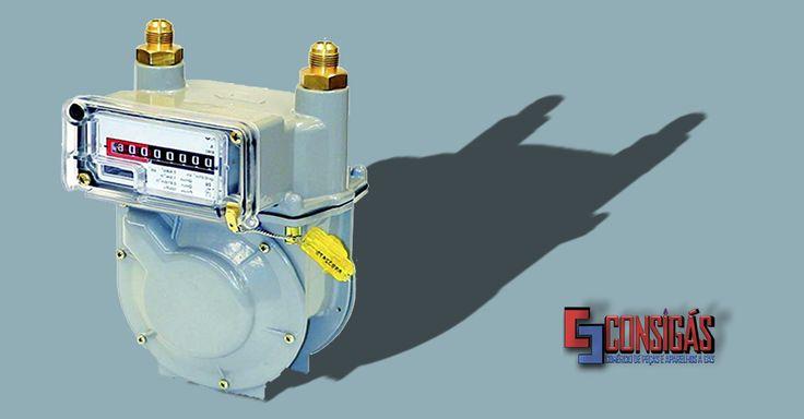 #consigaspecas  - Medidor de Gás. tem na www.consigaspecas.com.br