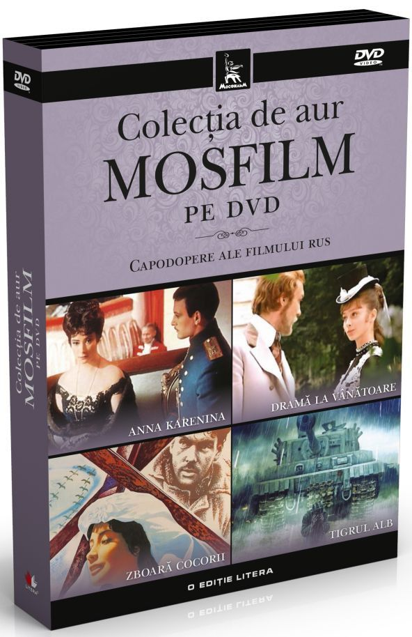 - Pachet: Colectia de aur Mosfilm pe DVD. Capodopere ale filmului rus (4 filme) -