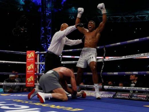 Welcome to Emmanuel Donkor's Blog    www.DonkorsBlog.Com                                        : Anthony Joshua defeats Wladimir Klitschko in the 1...