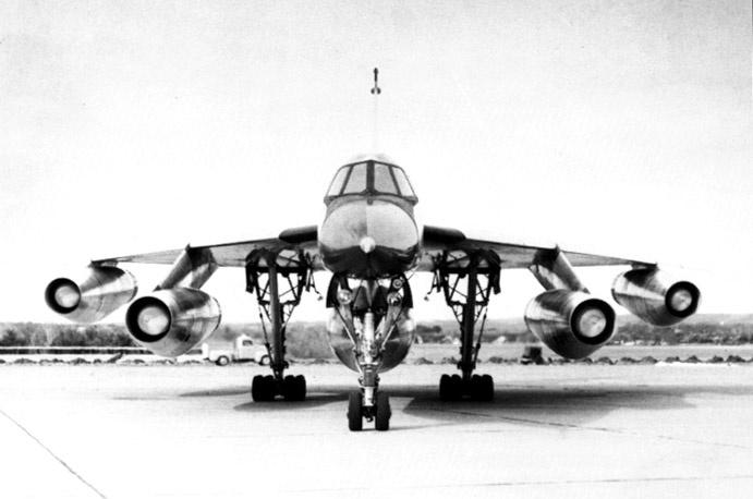 B 58 Hustler nuclear bomber, FAST plane