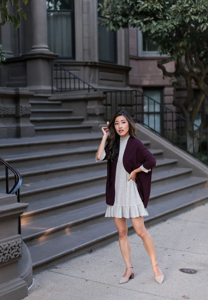 Stunning Fall Outfit Ideas with Cardigans To Wear Now 24