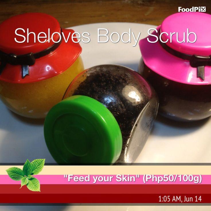 First three body scrub by Sheloves