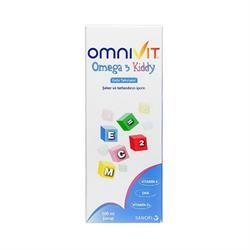 Omnivit Omega 3 Kiddy Şurup, içeriğinde bulunan DHA, omega 3, A, C, D, E vitaminleri ile çocuklarınızın zihin gelişimine ve bağışıklık sistemini desteklemeye yardımcı olabilir. Çocuklarda günde 1 ölçek kullanılması önerilir.