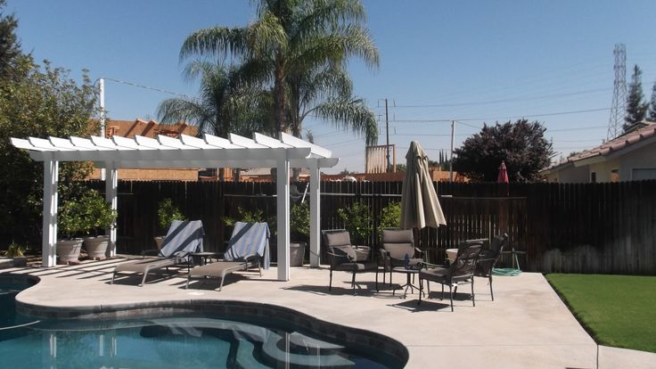 Here is the perfect addtion for your next backyard BBQ!  Style and Shade!