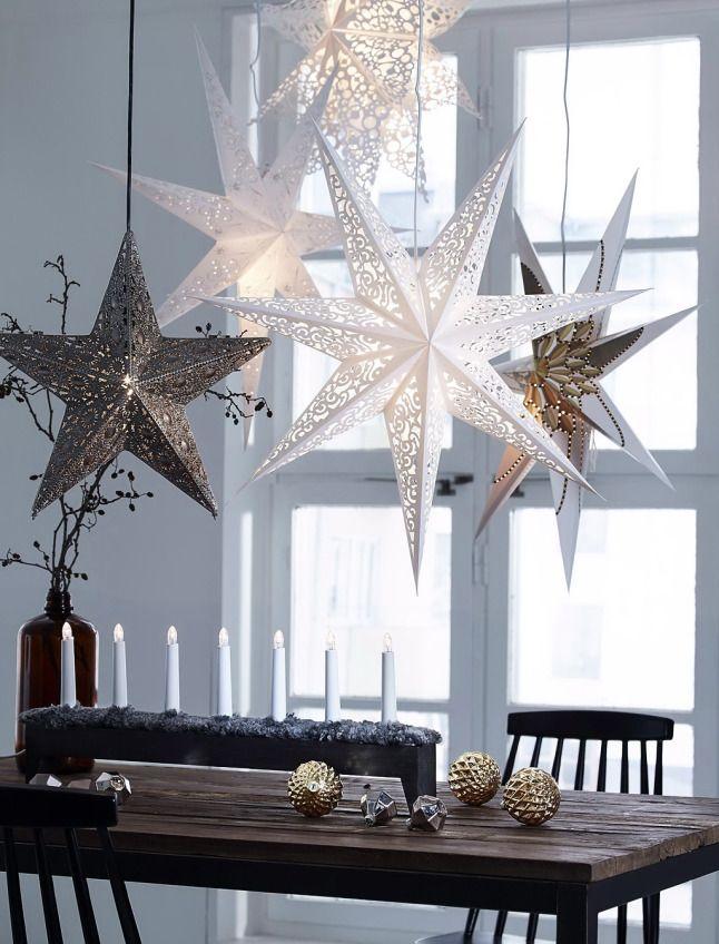 Kerst inspiratie uit Denemarken. Voor meer kerst en interieur kijk ook eens op http://www.wonenonline.nl/interieur-inrichten/