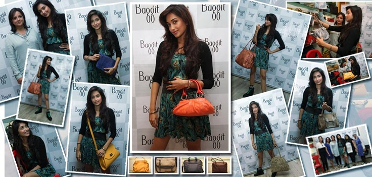 Jiah Khan was recently invited to our Atria store by Nina Lekhi herself for a fun fashion extravaganza and here's about all that went down!