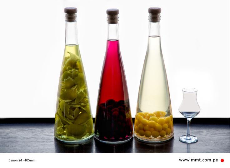 Macerados de Pisco // Gastronomía // El Álbum rojo // MMT Photography & graphics