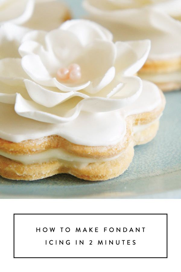 How to Make Fondant Icing in 2 Minutes via @PureWow