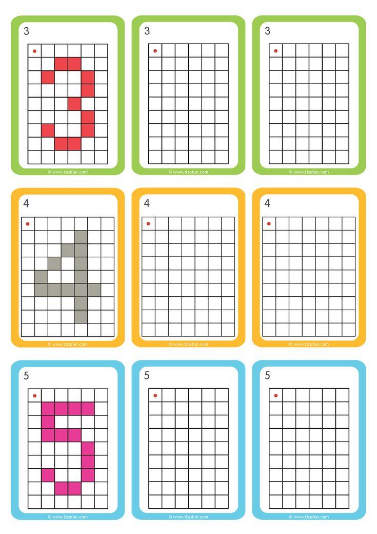 les 62 meilleures images du tableau dominos nombres cacul addition sur pinterest pixel art. Black Bedroom Furniture Sets. Home Design Ideas