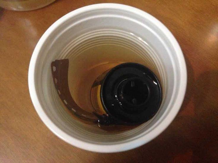#Todo Effets secondaires : une pellicule trempée dans du thé · #Lomography