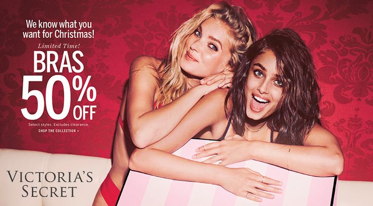 Online Only! Limited Time! Bras 50% #off.  Store : #VictoriasSecret Scope: Entire Store  Ends On : 11/09/2016    Get more deals: http://www.geoqpons.com/Victorias-Secret-coupon-codes  Get our Android mobile App: https://play.google.com/store/apps/details?id=com.mm.views    Get our iOS mobile App: https://itunes.apple.com/us/app/geoqpons-local-coupons-discounts/id397729759?mt=8