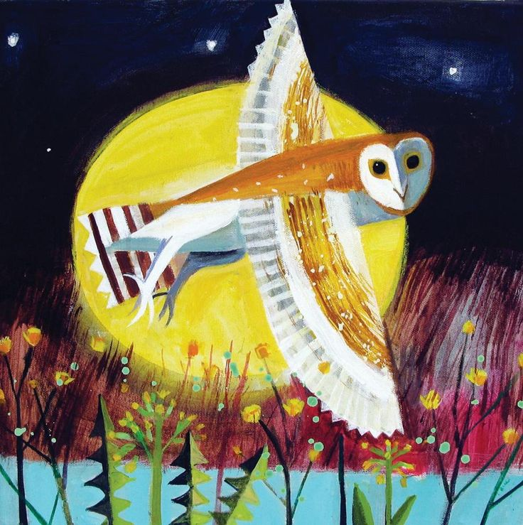 Flying Owl by Mary Sumner