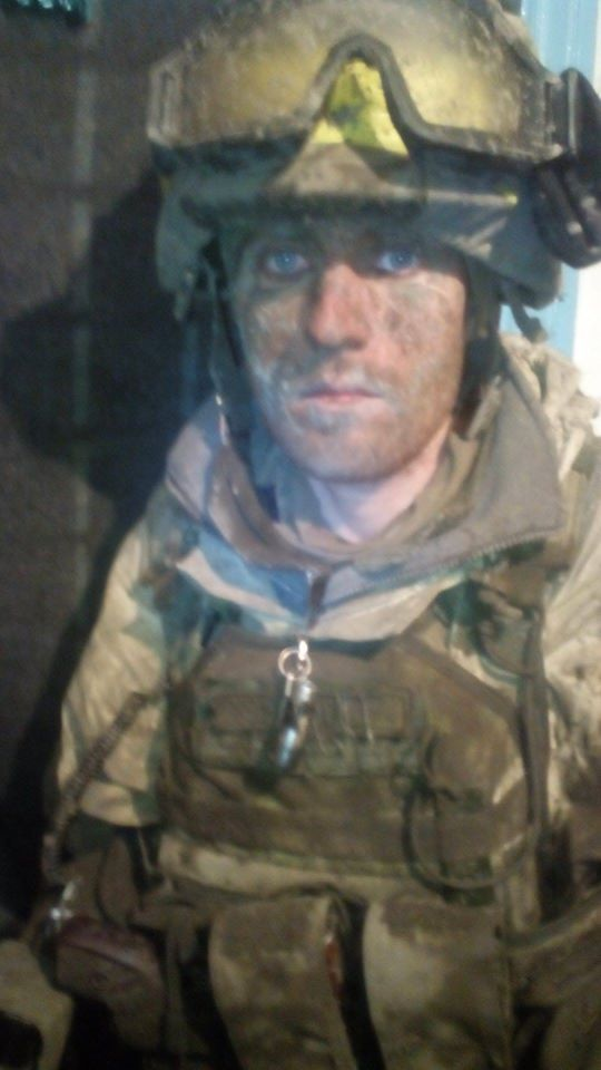 The thousand yard stare: Ukrainian soldier after 9 hour long firefight
