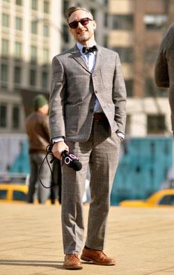 Street Style: Frank Tartaglia at NYFW