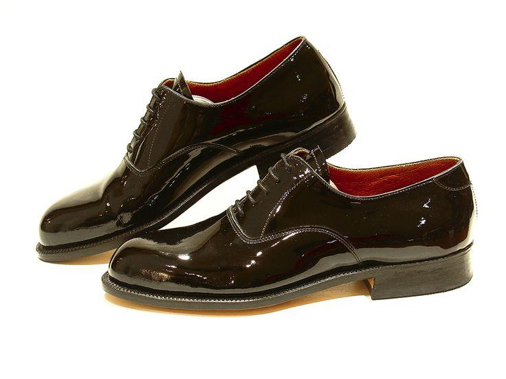Modello Luca - 45 EU - Cuero Italiano Hecho A Mano Hombre Piel Verde Zapatos Vestir Oxfords - Cuero Cuero Pintado a Mano - Encaje bblFEbf4