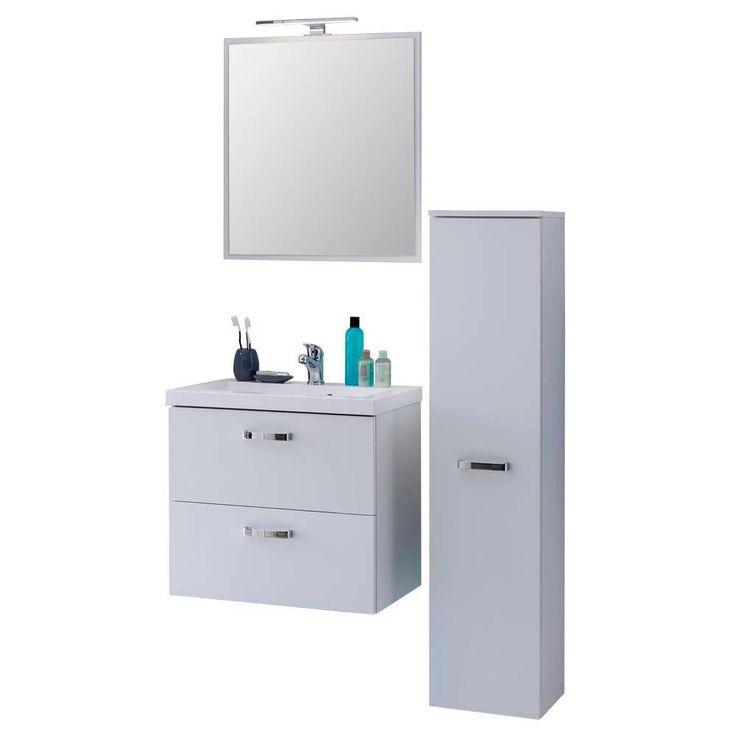 Badezimmermöbel Set In Weiß Wandmontage (3 Teilig) Jetzt Bestellen Unter:  ...