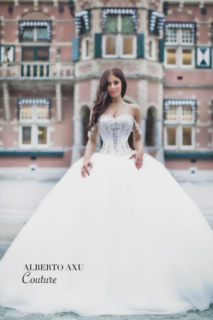 Bruidsjurken Princess – Baljurk | Alberto Axu Couture
