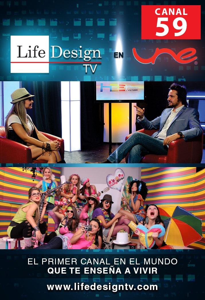 En menos de 10 meses, de la frecuencia 142 al Canal 59 de UNE! Follow us on Twitter @canallifedesign