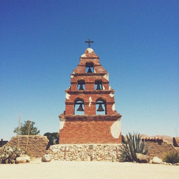 San Miguel Arcangel Mission in San Miguel, CA. 8 miles north of Paso Robles
