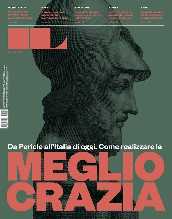 Francesco Franchi (Direção artística) : Capa para do nº 36 da revista IL (Intelligence in Lifestyle)
