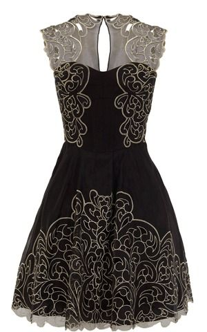 I need to be someone's Mother of the bride or groom so I can have somewhere to wear this dress!  Baroque Lace dress by Karen Millen on Shop For Fun.