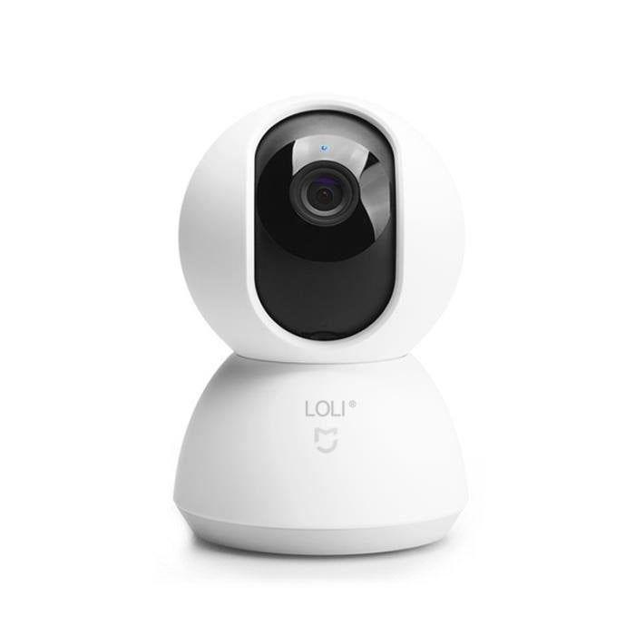 Camera De Surveillance Xiaomi Connectee Sans Fil Blanc Rotative 360 Camera Surveillance Camera Et Camera De Securite