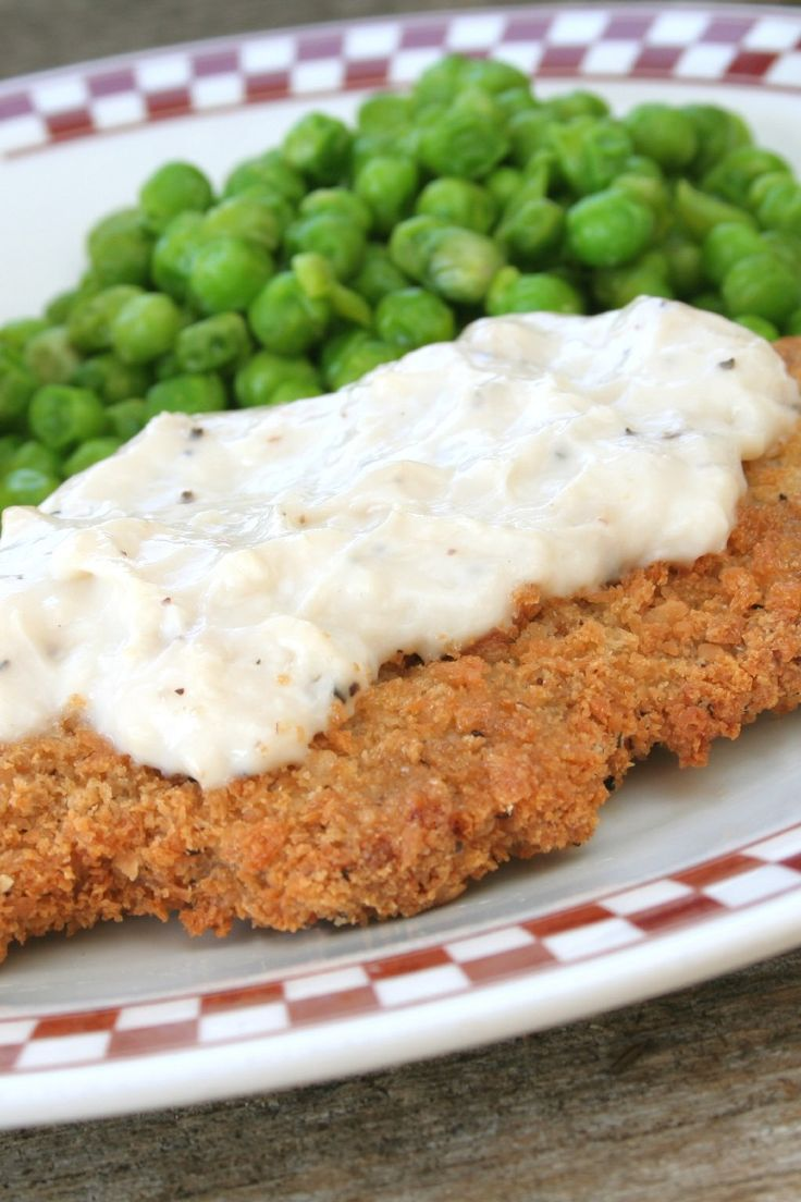 Lean/Low Fat Chicken Fried Steak (Weight Watchers - 4)