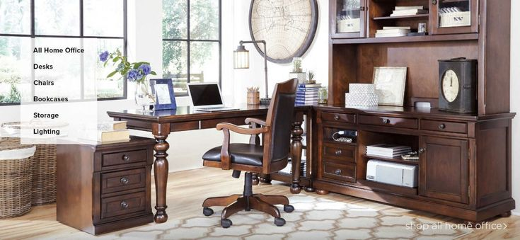 Desks for Office at Home - Rustic Home Office Furniture Check more at http://www.drjamesghoodblog.com/desks-for-office-at-home/