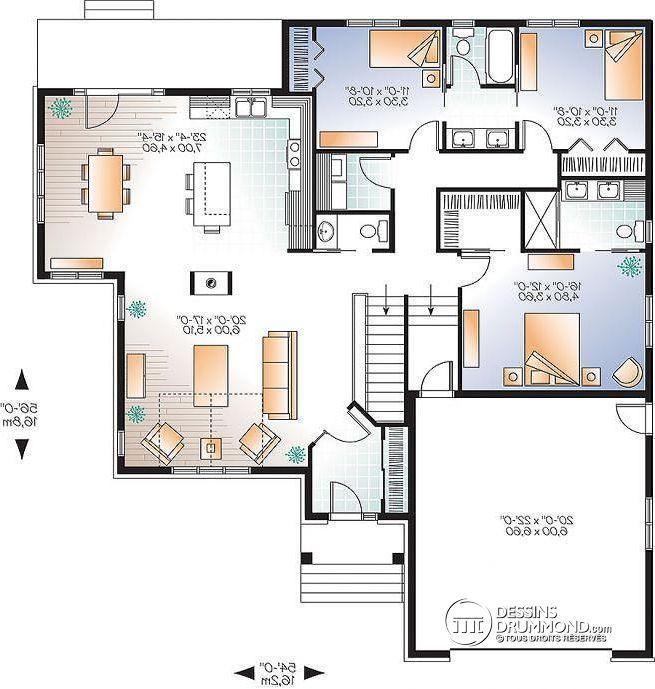 Plan Maison Foyer Central : Les meilleures idées de la catégorie plans maison